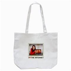 I Love the Internet Tote Bag (White)