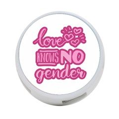 Love knows no gender 4-Port USB Hub (Two Sides)