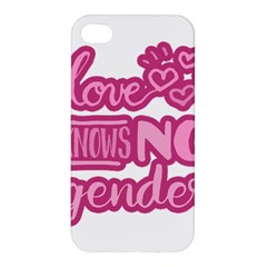 Love knows no gender Apple iPhone 4/4S Hardshell Case