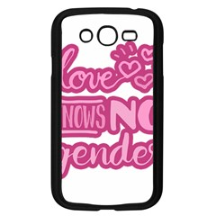 Love knows no gender Samsung Galaxy Grand DUOS I9082 Case (Black)