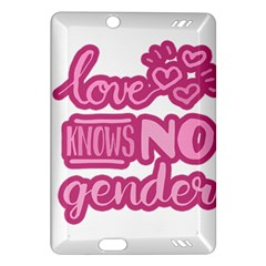Love knows no gender Amazon Kindle Fire HD (2013) Hardshell Case