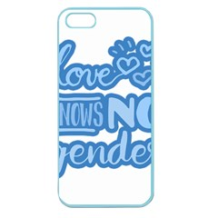 Love knows no gender Apple Seamless iPhone 5 Case (Color)