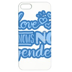 Love knows no gender Apple iPhone 5 Hardshell Case with Stand