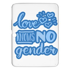 Love knows no gender Samsung Galaxy Tab 3 (10.1 ) P5200 Hardshell Case