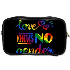 Love knows no gender Toiletries Bags