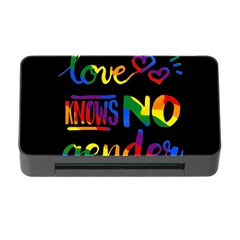 Love knows no gender Memory Card Reader with CF