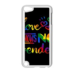 Love knows no gender Apple iPod Touch 5 Case (White)