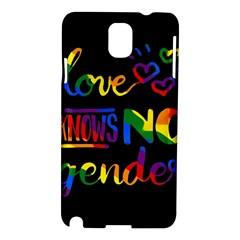 Love knows no gender Samsung Galaxy Note 3 N9005 Hardshell Case