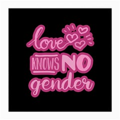 Love knows no gender Medium Glasses Cloth