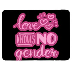 Love knows no gender Samsung Galaxy Tab 7  P1000 Flip Case