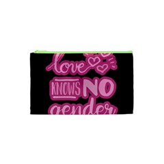 Love knows no gender Cosmetic Bag (XS)
