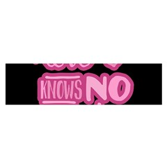 Love knows no gender Satin Scarf (Oblong)