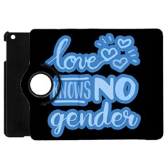 Love knows no gender Apple iPad Mini Flip 360 Case