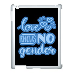 Love knows no gender Apple iPad 3/4 Case (White)