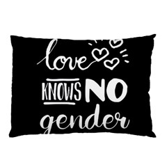 Love knows no gender Pillow Case