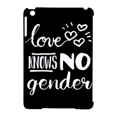 Love knows no gender Apple iPad Mini Hardshell Case (Compatible with Smart Cover)
