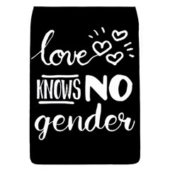 Love knows no gender Flap Covers (S)