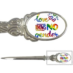 Love knows no gender Letter Openers