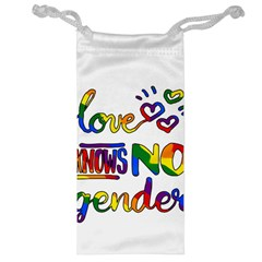 Love knows no gender Jewelry Bag