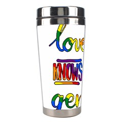 Love knows no gender Stainless Steel Travel Tumblers