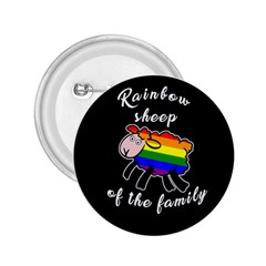 Rainbow sheep 2.25  Buttons