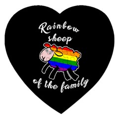 Rainbow sheep Jigsaw Puzzle (Heart)