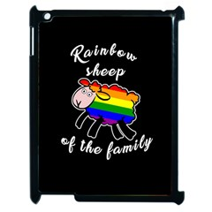 Rainbow sheep Apple iPad 2 Case (Black)