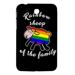 Rainbow sheep Samsung Galaxy Tab 3 (7 ) P3200 Hardshell Case