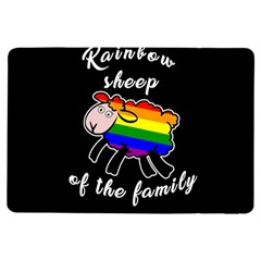 Rainbow sheep iPad Air Flip