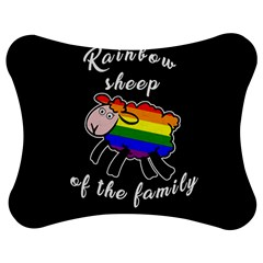 Rainbow sheep Jigsaw Puzzle Photo Stand (Bow)
