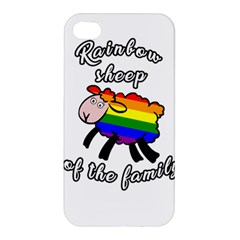 Rainbow sheep Apple iPhone 4/4S Hardshell Case
