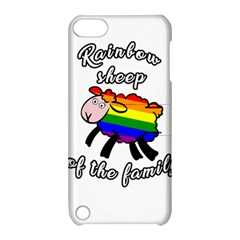 Rainbow sheep Apple iPod Touch 5 Hardshell Case with Stand