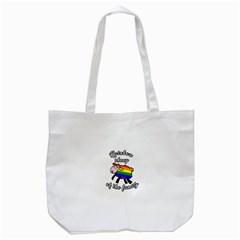 Rainbow sheep Tote Bag (White)