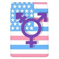 Transgender flag Flap Covers (S)