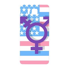 Transgender flag Samsung Galaxy Alpha Hardshell Back Case