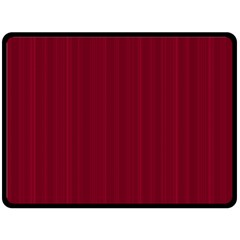 Lines pattern Double Sided Fleece Blanket (Large)