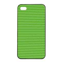 Lines pattern Apple iPhone 4/4s Seamless Case (Black)