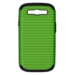 Lines pattern Samsung Galaxy S III Hardshell Case (PC+Silicone)