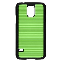 Lines pattern Samsung Galaxy S5 Case (Black)
