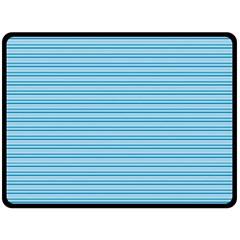 Lines pattern Fleece Blanket (Large)