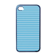 Lines pattern Apple iPhone 4 Case (Black)