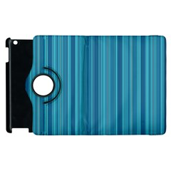 Lines pattern Apple iPad 2 Flip 360 Case