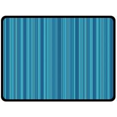 Lines pattern Double Sided Fleece Blanket (Large)