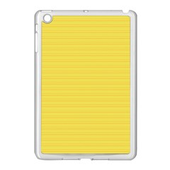 Lines pattern Apple iPad Mini Case (White)