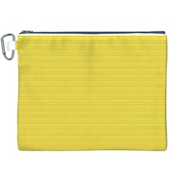 Lines pattern Canvas Cosmetic Bag (XXXL)