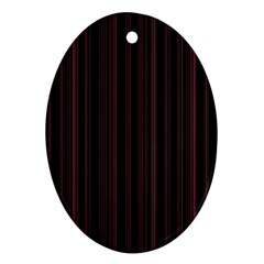 Lines pattern Ornament (Oval)