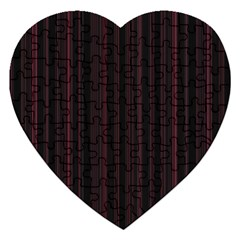Lines pattern Jigsaw Puzzle (Heart)