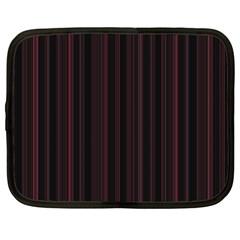 Lines pattern Netbook Case (XXL)