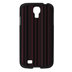 Lines pattern Samsung Galaxy S4 I9500/ I9505 Case (Black)