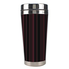 Lines pattern Stainless Steel Travel Tumblers